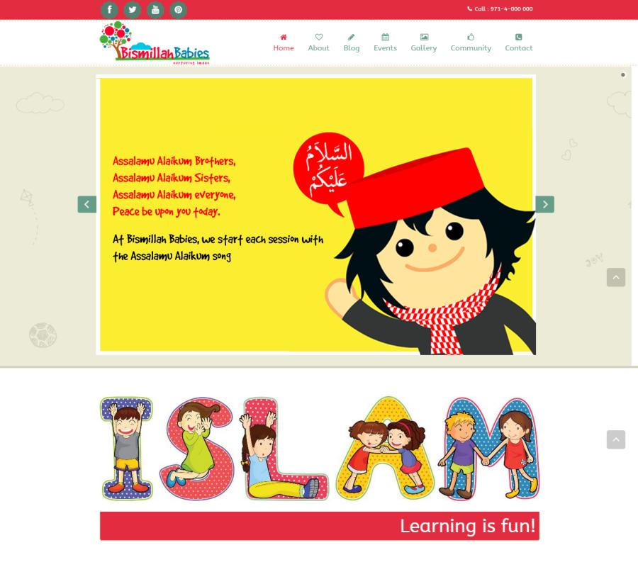 Bismillah Babies Website