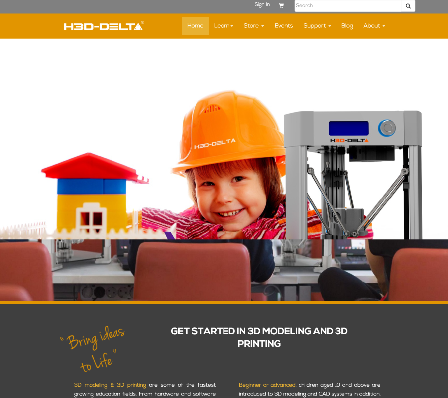 H3D Delta Website Design Development Dubai SEO Dubai Digital Marketing Social Media